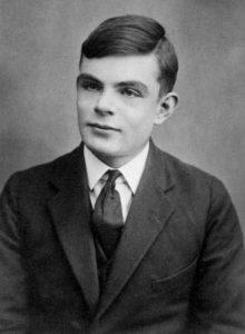 Alan Turing mit sechzehn Jahren