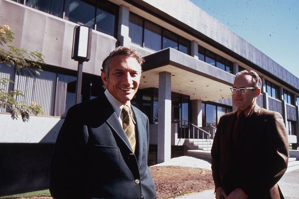 Robert Noyce und Gordon Moore - die Intel-Gründer (Foto: Intel)