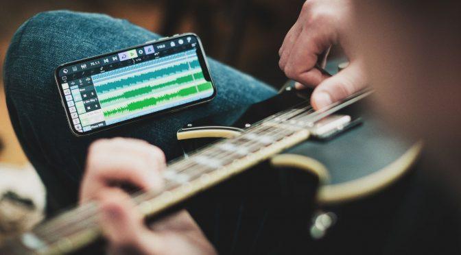 Die App als Tonstudio (Foto: Steinberg Res.)