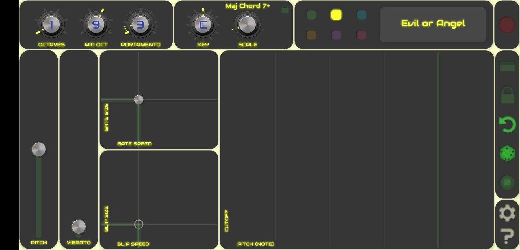 QiBrd ist ein virtueller Analog-Synthesizer, die einfach zu bedienen ist (Screenshot DS)