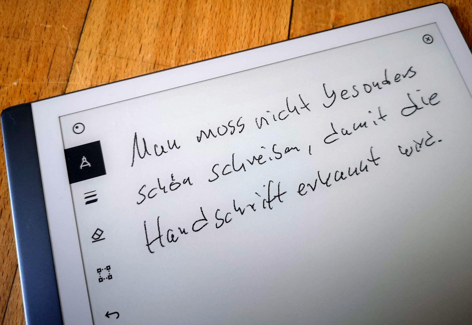 Handschrifterkennung: Das Gekritzel...