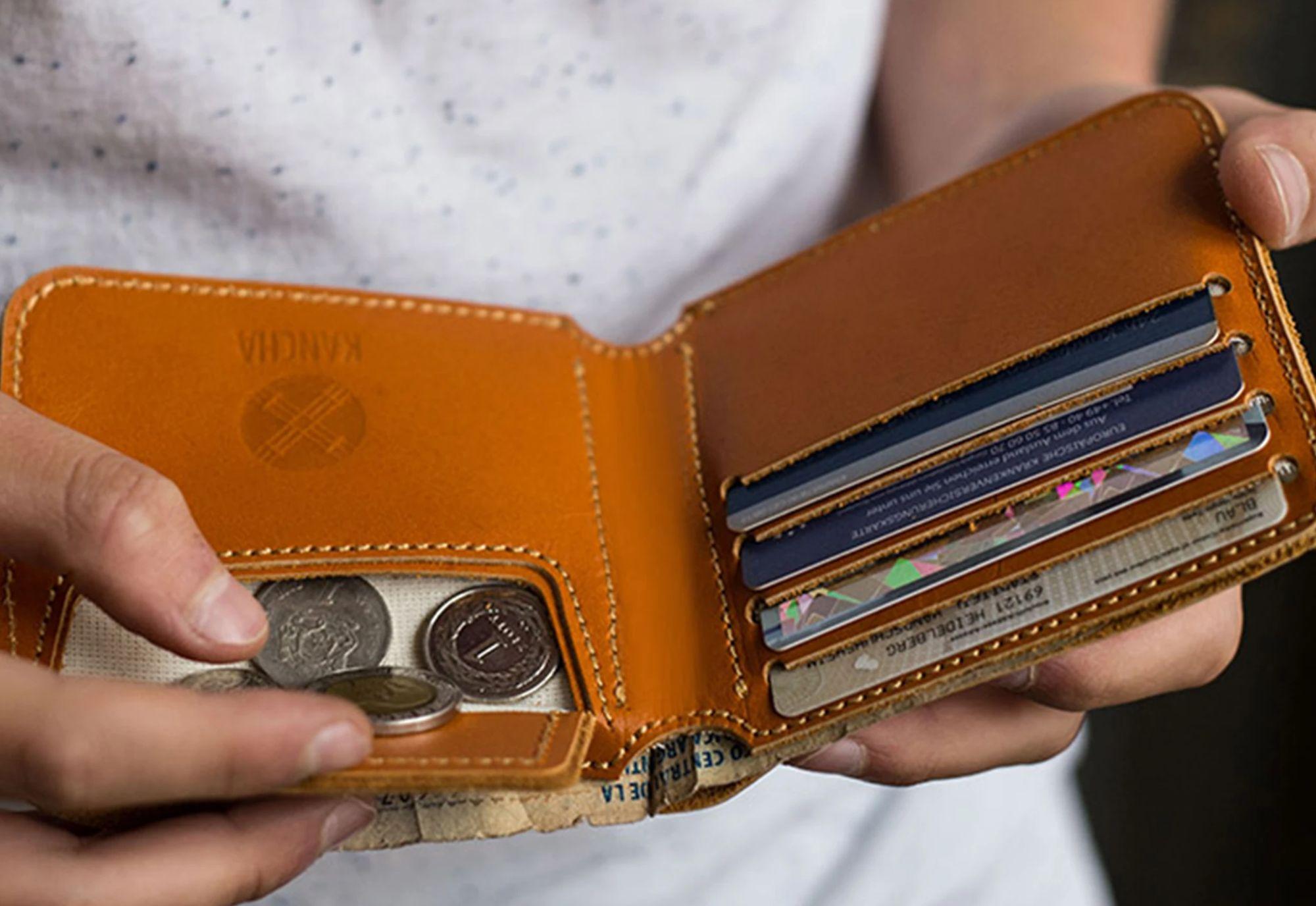 Eine Geldbörse kann leicht geklaut werden (Symbolfoto: Kancha)