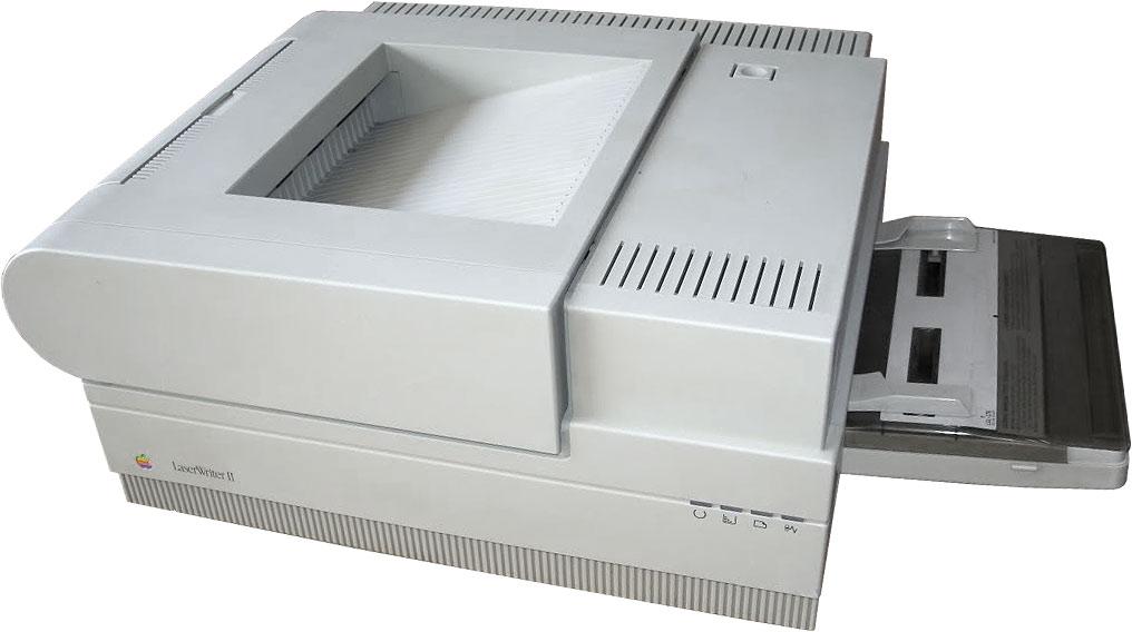 Der Laserdrucker - ein entscheidendes Element beim Erfolg von DTP (Foto: Vintage Computers)
