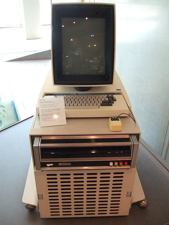 Legendärer als legendär: der Xerox Alto von 1974 (Foto: public domain)