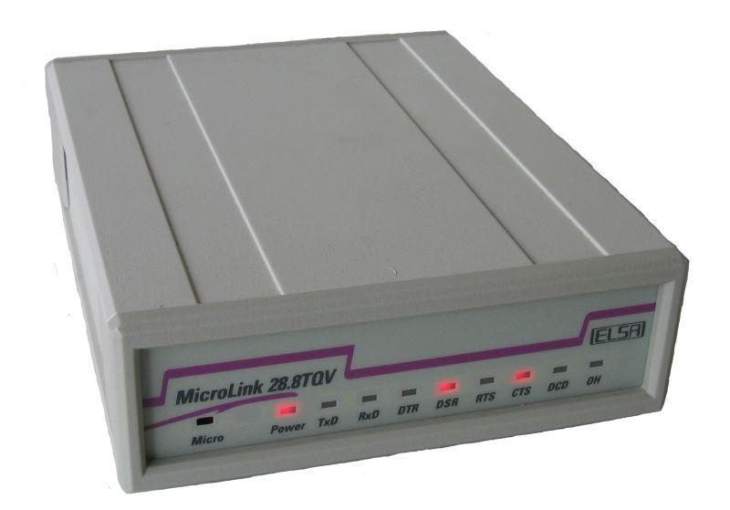 Ein klassisches ELSA-Modem (Foto: siehe Bildnachweis unten)