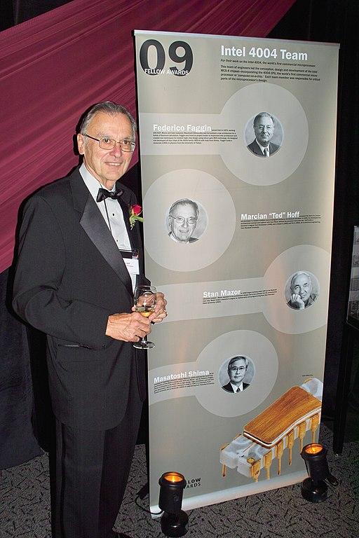 Ted Hoff, einer der Mikroprozessor-Erfinder (Foto via Wikimedia, siehe Bildnachweis unten)